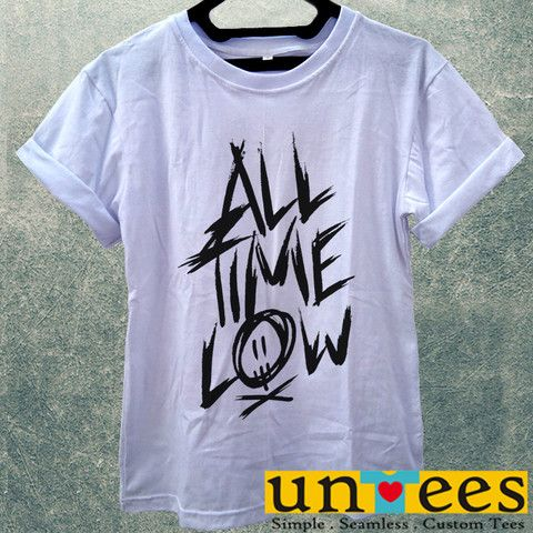Low Price Women's Adult T-Shirt - All Time Low design – untees