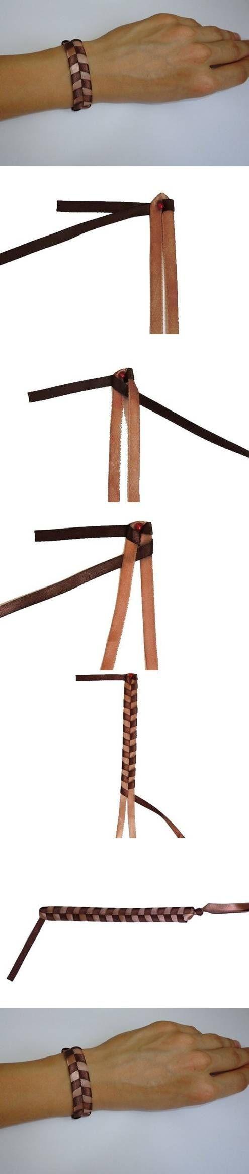 DIY Quick Simple Leather Bracelet DIY Projects / UsefulDIY.com