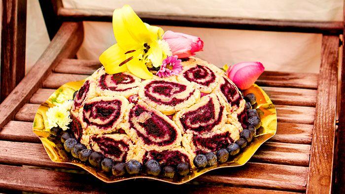 Tårtornas+tårta:+Charlotte+russe+med+blåbär