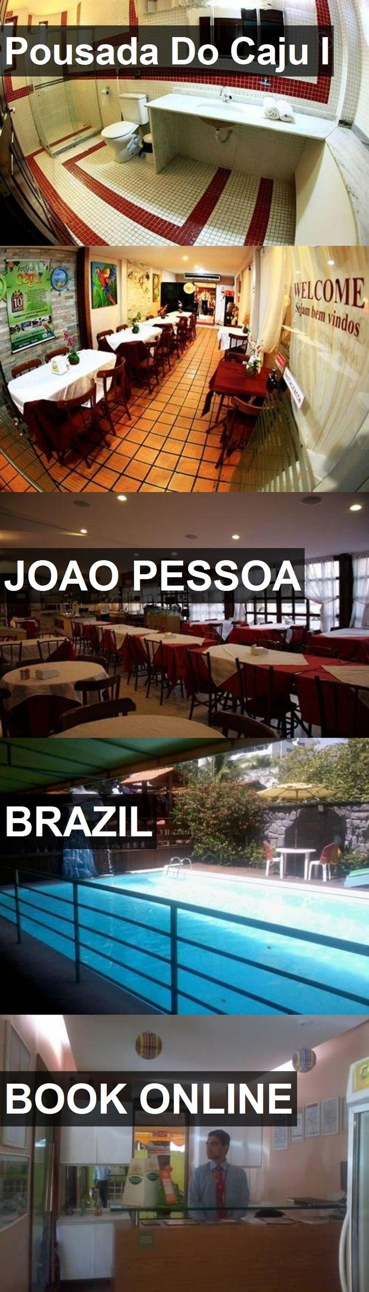 Hotel Pousada Do Caju I in Joao Pessoa, Brazil. For more information, photos, reviews and best prices please follow the link. #Brazil #JoaoPessoa #hotel #travel #vacation