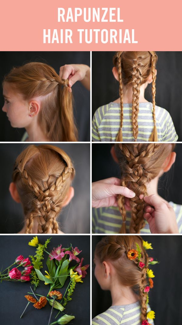 Whether your little one is prone to sing alongside mice friends, or even clocks and teapots for that matter, there's a princess hairdo that will fit your own pretty princess's costume. These princess hairstyles are perfect for Halloween, dress up days, or even just your little princess's daily life. #HairTutorials