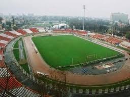 Dinamo Bucuresti stadion, geen wedstrijd bezocht, maar sportcentrum bezocht.