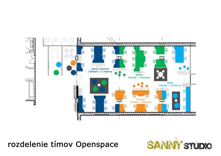 Reorganizácia a oživenie kancelárskych priestorov.