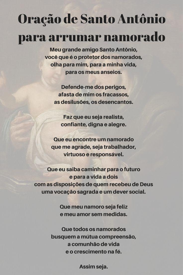 Oração de Santo Antônio para arrumar namorado