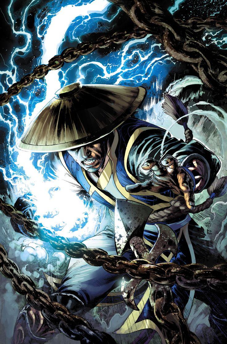 Mortal Kombat - Raiden by Ivan Reis, colours by Rod Reis *