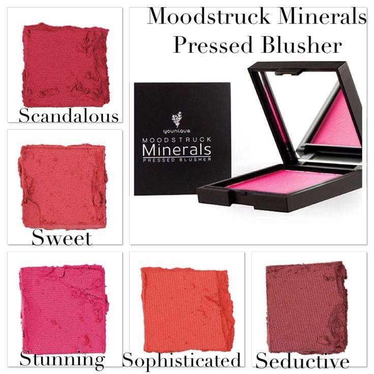 Choose the perfect Blush color for your skin tone by looking at your lips. Younique blusher shade available in several colors to enhance your natural beauty. LashOutFun.com