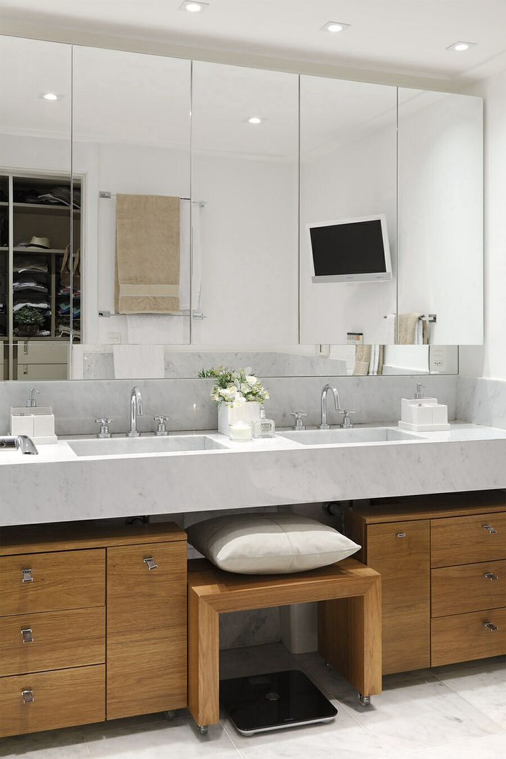 Casa De Valentina. Pia Sem Cuba. Bathroom MirrorsBathroomsBathroom  RenovationsInterior Design InspirationSao PauloAlter EgoCabinet ...