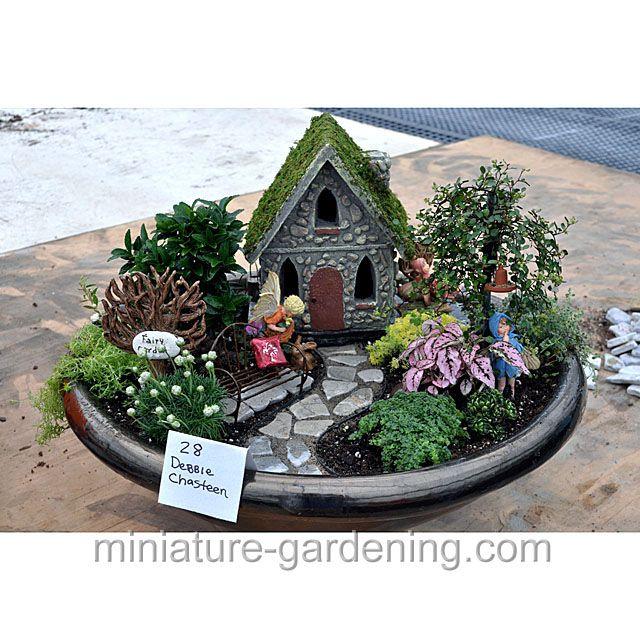 Charming Flower Fairy Garden.Jpg: