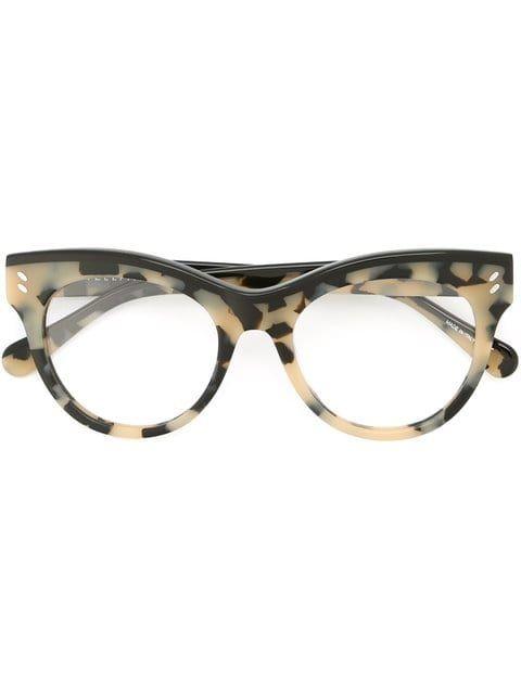 03220cc89f Shop Stella Mccartney Eyewear Havana glasses.