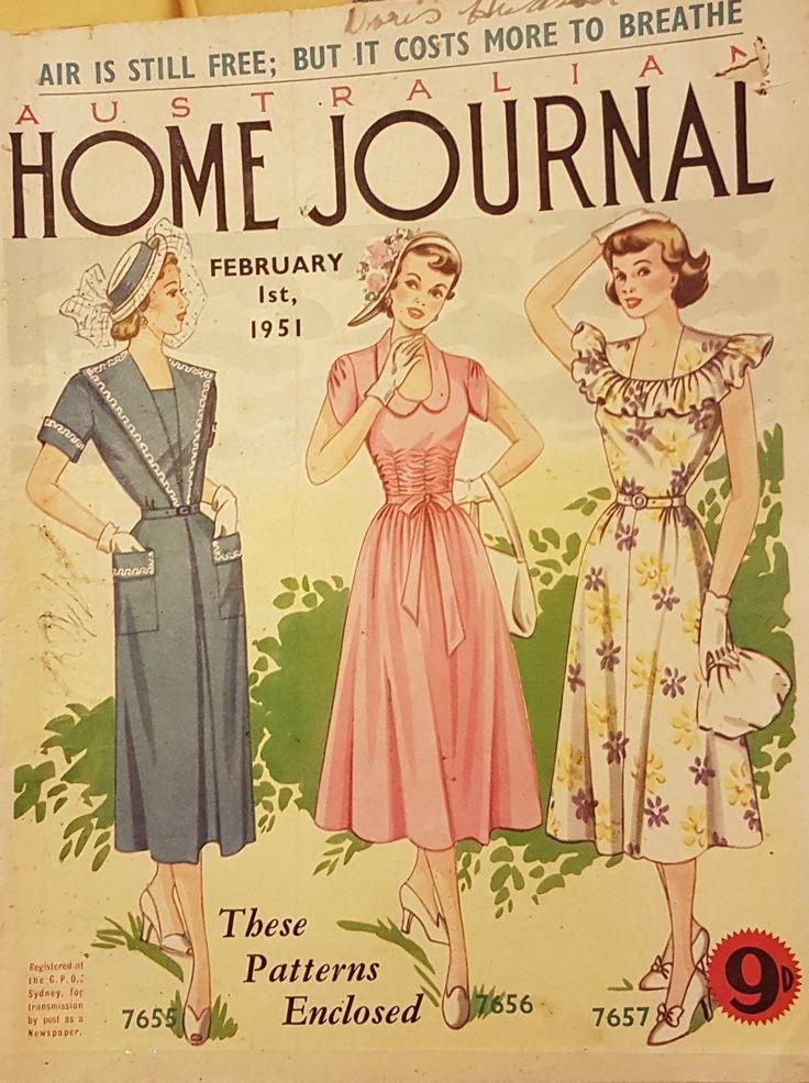 Australian home journal February 1951 cover