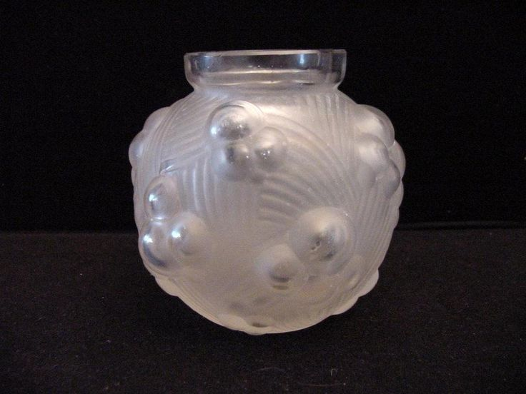art deco etling vase France