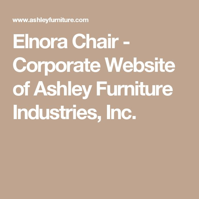 Elnora Chair - Corporate Website of Ashley Furniture Industries, Inc.