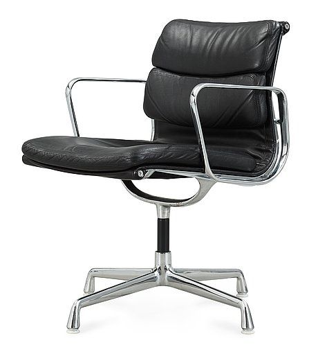 """CHARLES & RAY EAMES, """"Soft-Pad Chair"""", Herman Miller, USA.. - Höstens Contemporary, Stockholm 576 – Bukowskis"""