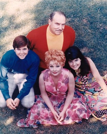 Here's Lucy - (1968-1974).Starring:   Lucille Ball, Gale Gordon, Lucie Arnaz, Desi Arnaz, Jr., Mary Jane Croft and Vivian Vance.