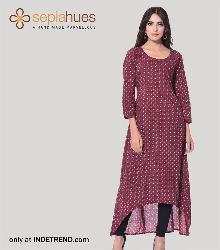 #trendy #sepihuesclothing #clothing #brand #sepihues #fashion #apparel#design #fusion Shop Ladies latest fashion dresses @ INDETREND.com