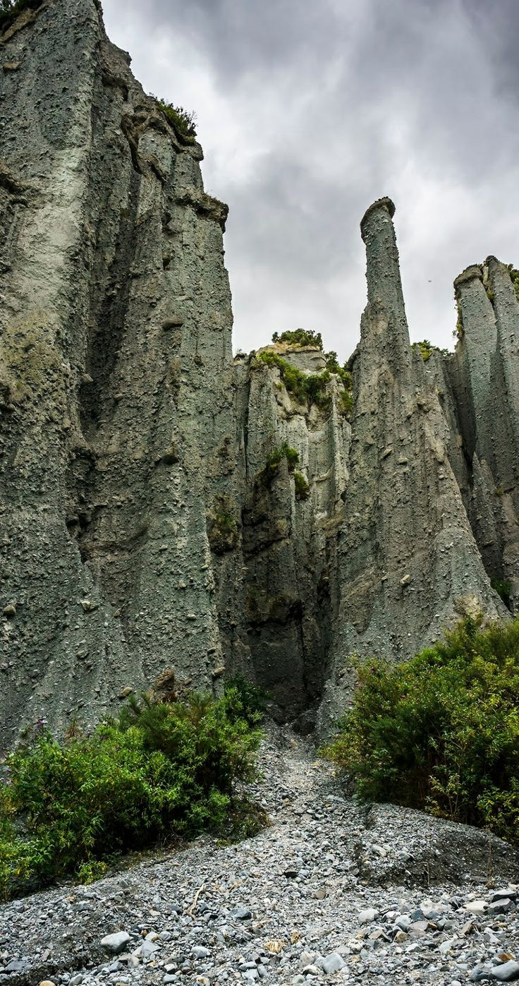Putangirua Pinnacles, Cape Palliser, Wairarapa, North Island, New Zealand