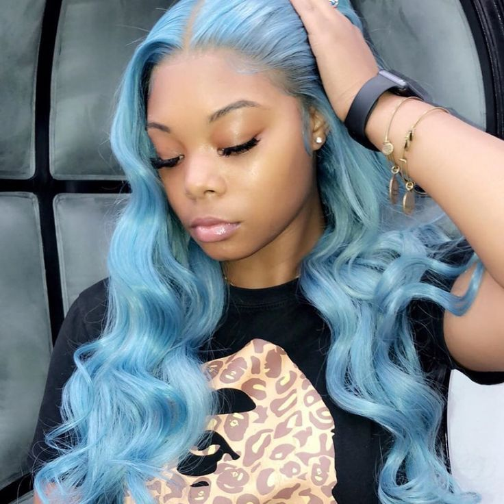 Www Joseideluxehair Com Light Blue Hair Colored Wigs Wig Hairstyles
