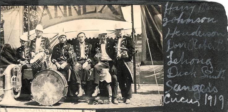 1919 Sanger Circus