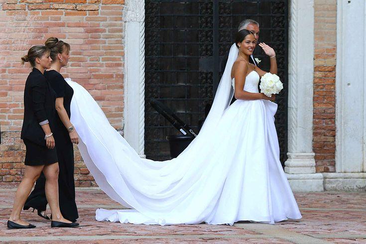 Wedding Dress - Ana Ivanovic & Bastian Schweinsteiger