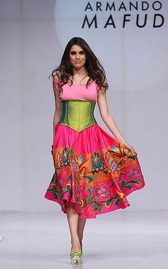 Mexico Fashion Week: Armando Mafud Spring 2009 -
