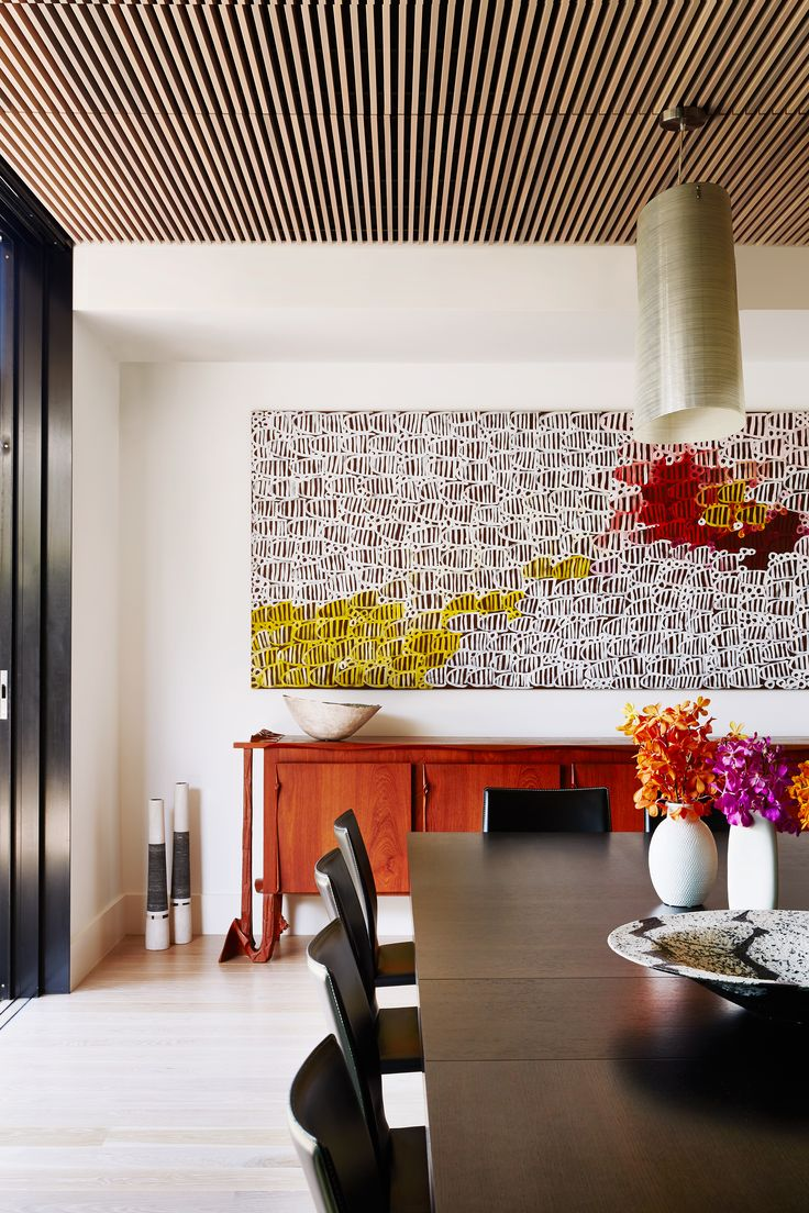 Formal dining room from Melbourne heritage home renovation by Footman Architects and SJB Interiors. Photography: Armelle Habib | Styling: Julia Green | Story: Australian House & Garden