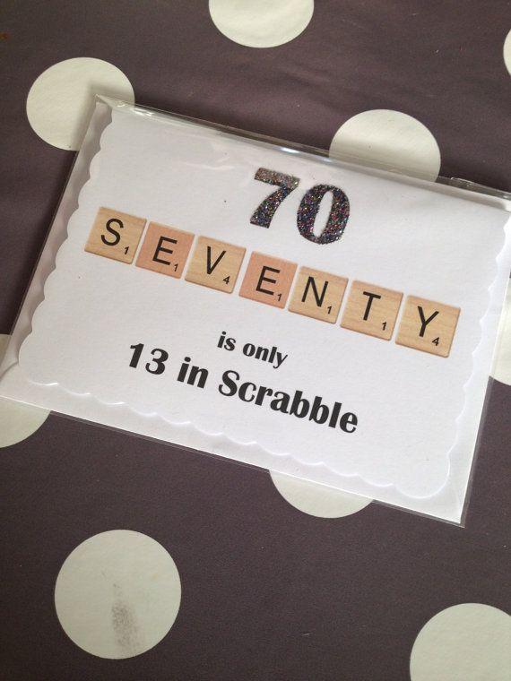 Seventy is only 13 in Scrabble