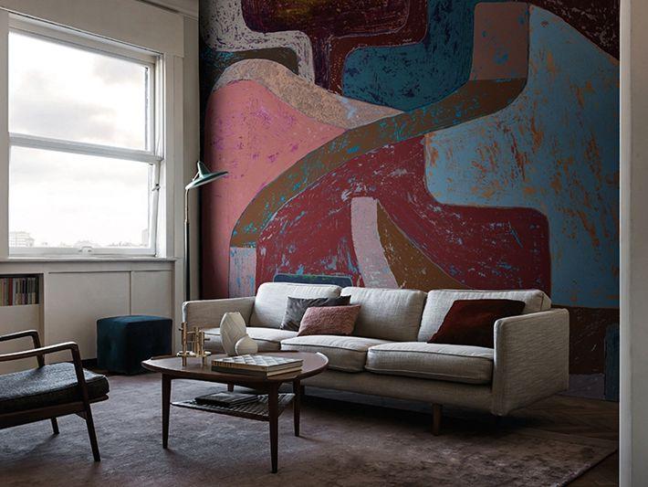 Die besten 25+ Mediterrane tapete Ideen auf Pinterest - tapeten wohnzimmer ideen 2013