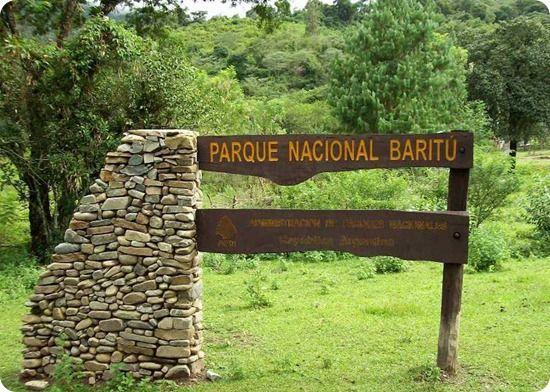El Parque Nacional Baritú es una de las zonas núcleo de la reserva de biosfera de las Yungas.Entrada