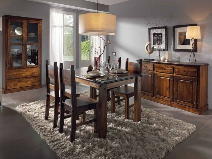 Muebles De Comedor Rusticos. Saln Rstico Colonial Mueble Rstico Para ...