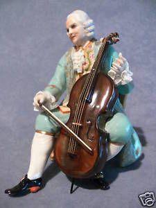 "Porcellane Fabris ""Cavaliere con Violoncello"""