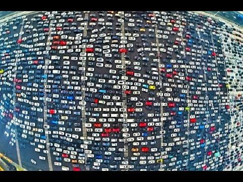 15 Most Unbelievable Traffic Situations - YouTube
