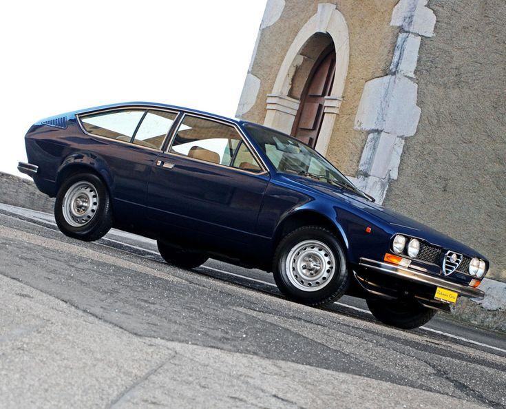 Alfa Romeo Alfetta 1.8 GT  Année de production: 1974 - 1987  Production: 21.948 Unités