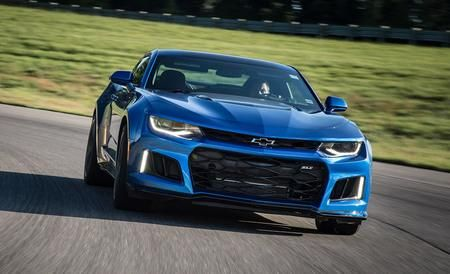 Riding sideways in the most powerful Camaro in history. Read more at Car and Driver.