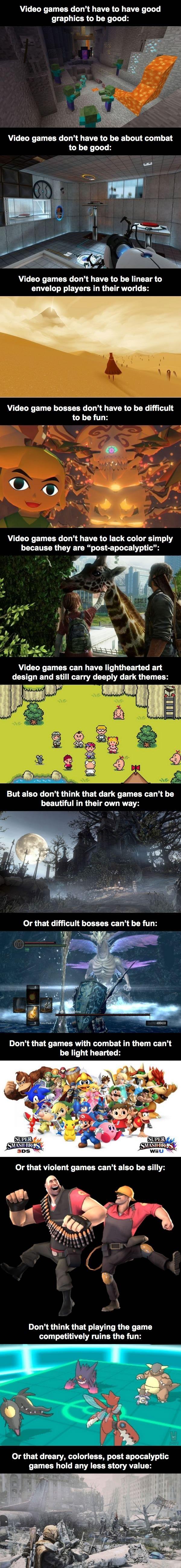 Rethink video games