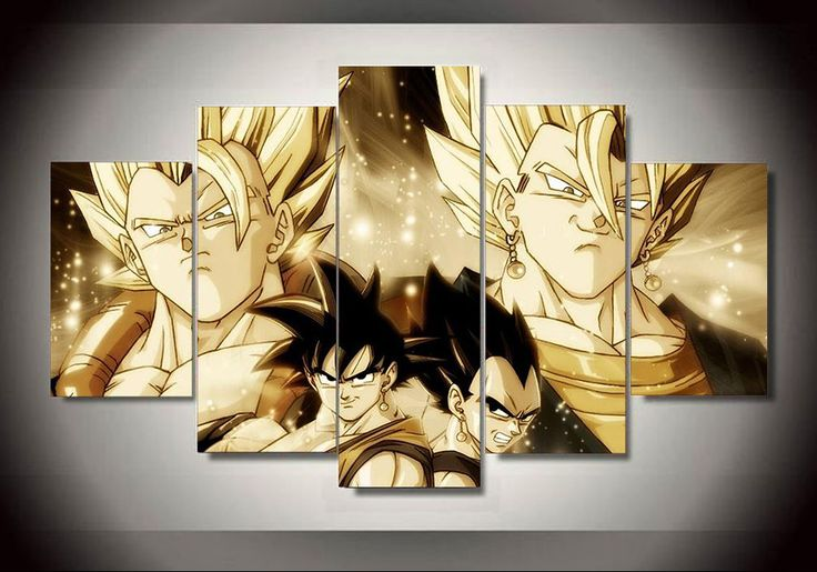 Best 25 gogeta and vegito ideas on pinterest goku and for Dragon ball z living room