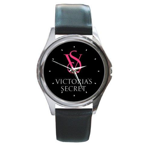 Victoria's secret design Round metal watches by awrelieaccessories