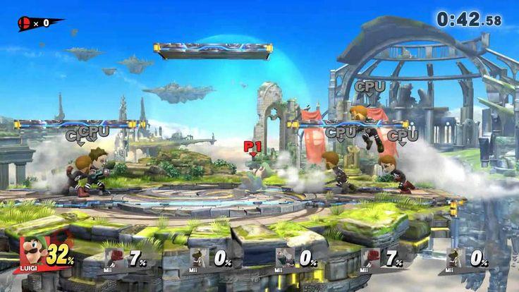 Finally Passed the one minute cruel man smash with Luigi