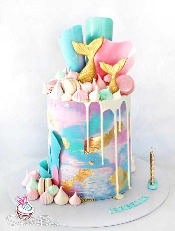 Custom Cakes Smartiebox Cake Studio Mermaid Birthday