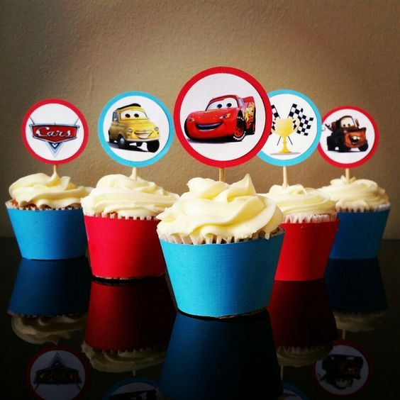 Check out this item in my Etsy shop https://www.etsy.com/listing/476926755/disney-cars-cupcake-toppers-wrappers
