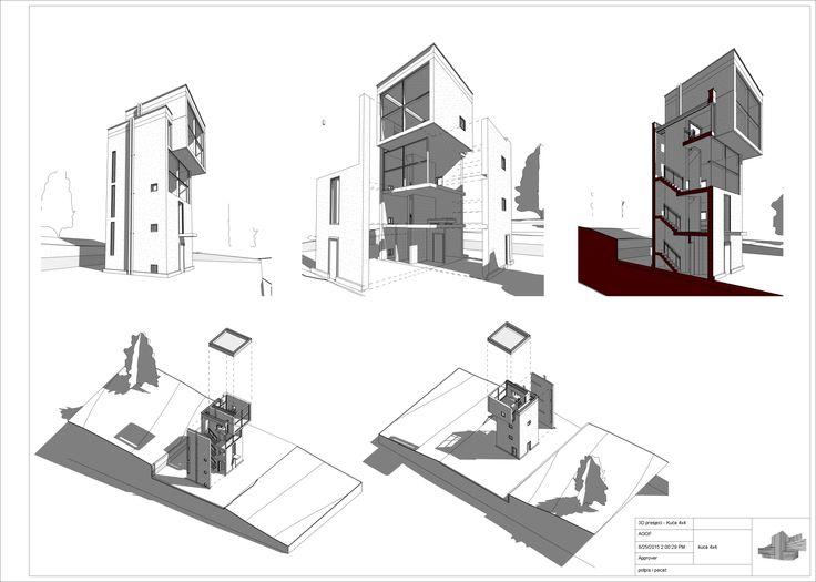 Projekat dizajniran na obuci za BIM Revit Architecture u Inovi, Banja Luka, na obuci za DAP (digitalno arhitektonsko projektovanje).Polaznici: Boris Guzvic, Dusan Stojiljkovic, Igor Milekic, Milos Ivanovic, Simo Ristanovic, Srdjan Teofilovic i Vlado Jovo…