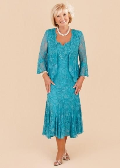 Plus Size Mother Of The Groom Dress Two Pieces Lace Mother'S Dresses Tea Length Mother Of The Bride Gowns With A Long Sleeves Jacket Plus Size Women Party Wear Simple Mother Of The Bride Dresses From Sweetlife1, $114.37| Dhgate.Com