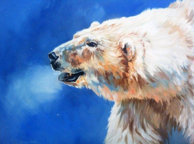 Arctic Breath by Kindrie Grove 30X40 #oiloncanvas