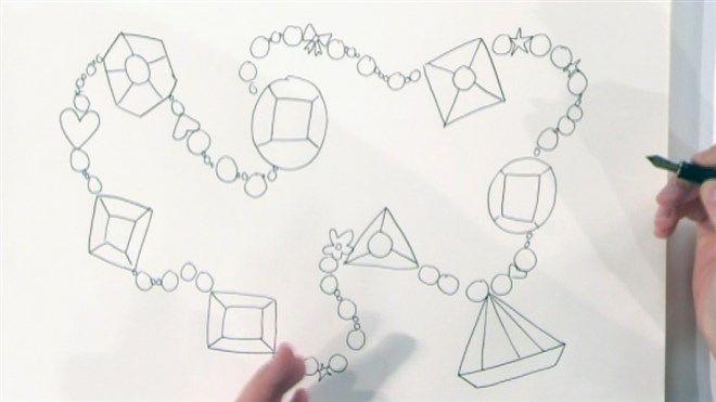 Jill tekent een diamant | teken tutorials | Pinterest ...