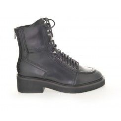 Ash Neal Lace-Up Boot in Black