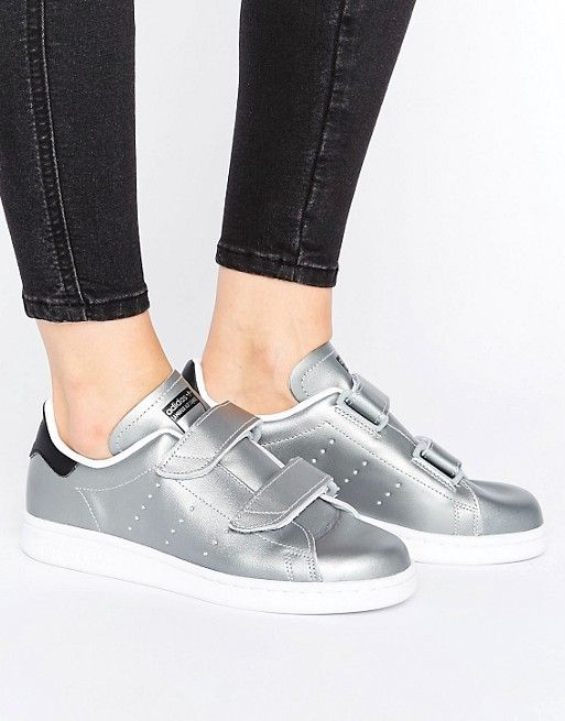 Adidas Originals Silver Stan Smith