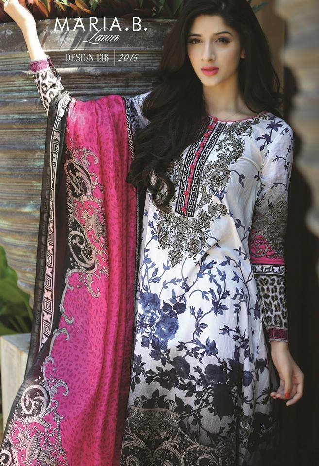Maria B Summer Designs Lawn collection 2015…