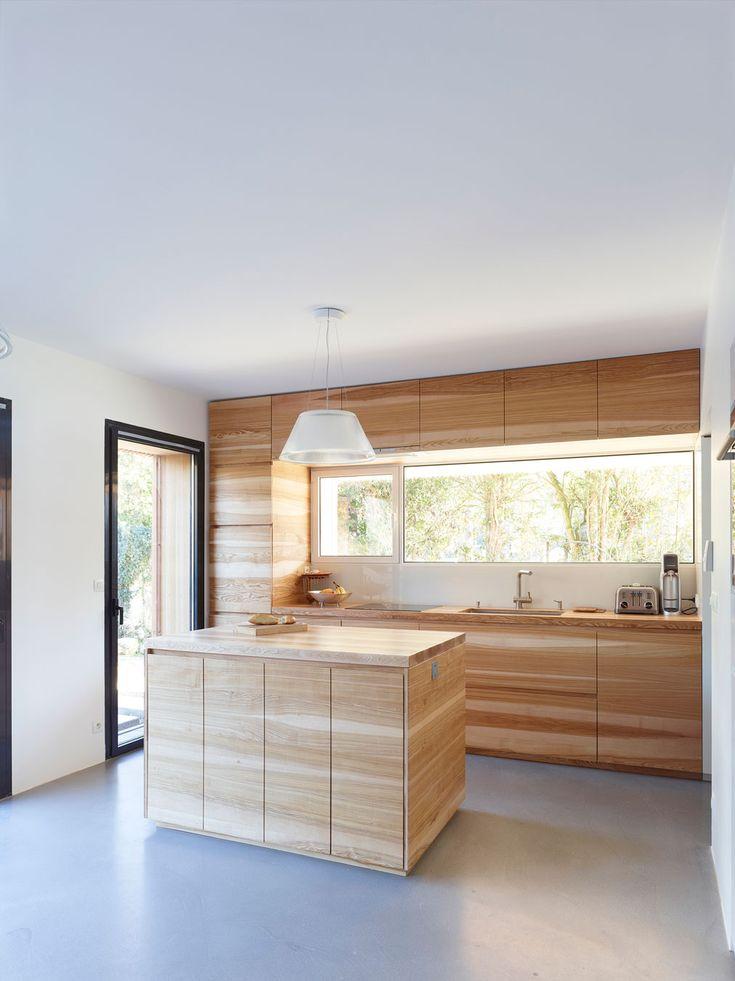 Maison 2g by avenier cornejo architectes kitchens for Architecture 2g
