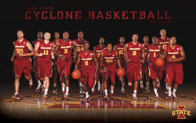 2012 Iowa State Men's Basketball Poster