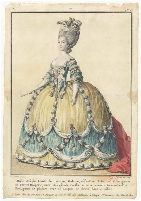 18th century court gown