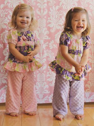 Ellie Inspired Dreamy Baby PDF Sewing Pattern | YouCanMakeThis.com